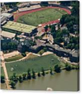 New Rochelle High School Aerial Photo Canvas Print