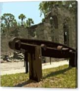 New Smyrma Sugar Mill Canvas Print