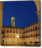 New Square, Vitoria Canvas Print