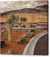 New Subdivision View Canvas Print