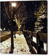 New Winter Snow Canvas Print