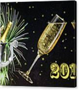 New Year 2018 Canvas Print
