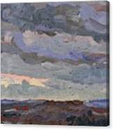 New Year Stratocumulus Canvas Print