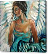 New Year's Angel Canvas Print