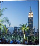 New York 230 Fith Rooftop Bar  Canvas Print