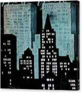 New York Art Deco Canvas Print