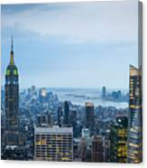 New York Blues Canvas Print