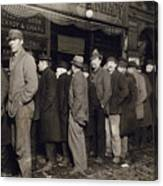 New York: Bread Line, 1907 Canvas Print