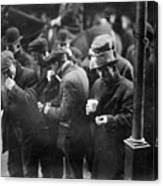 New York: Bread Line, 1915 Canvas Print
