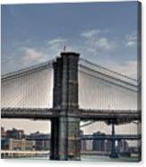 New York Bridges Canvas Print