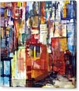 New York Cab Canvas Print