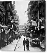 New York : Chinatown, 1909 Canvas Print
