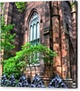 New York Church Canvas Print