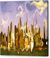 New York City 2200 - Modern Art Canvas Print