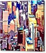 New York City Abstract Canvas Print