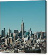 New York City Blues Canvas Print