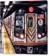New York City Charles Street Subway Station Canvas Print