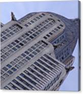 New York City - Chrysler Building 002 Canvas Print
