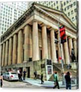 New York City Federal Hall Canvas Print