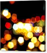 New York City Lights - My View Canvas Print