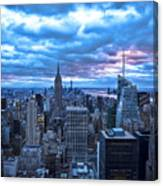 New York City Looking South Canvas Print