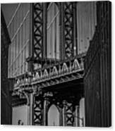 New York City - Manhattan Bridge Canvas Print