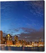 New York City Manhattan Skyline Panorama Canvas Print