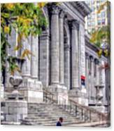 New York City Public Library Canvas Print