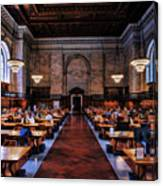 New York City Public Library Rose Reading Room Canvas Print
