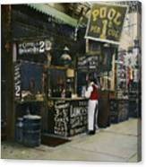 New York City Restaurant Canvas Print