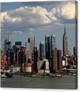 New York City Skyline 4 Canvas Print