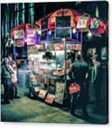 New York City Street Vendor Canvas Print
