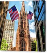New York City Trinity Church Canvas Print