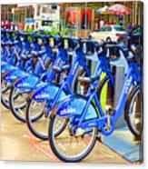 New York Citybike 1 Canvas Print
