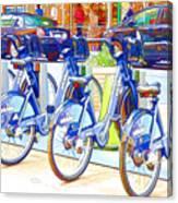 New York Citybike 2 Canvas Print