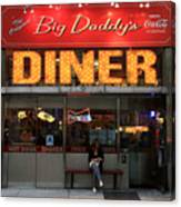 New York Diner 1 Canvas Print