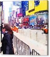 New York Flavor Canvas Print