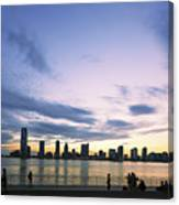 New York Hudson River Canvas Print