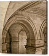 New York Library Canvas Print