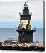New York Lighthouse-3 Canvas Print