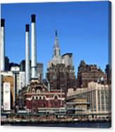 New York Mid Manhattan Skyline Canvas Print