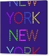 New York No 5  Canvas Print