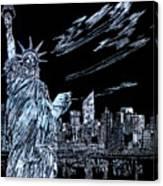New York New York New York  Canvas Print