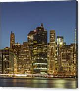 New York Skyline Panorama - 2 Canvas Print