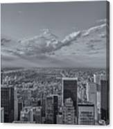 New York Skyline - View On Central Park - 2 Canvas Print