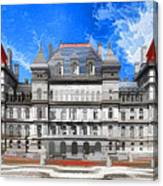 New York State Capitol Canvas Print