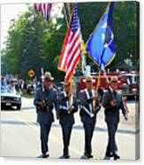 New York State Police Color Guard  5 Canvas Print