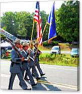 New York State Police Color Guard  6 Canvas Print
