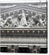 New York Stock Exchange Canvas Print