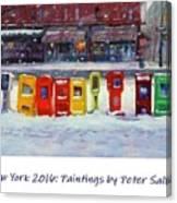New York Streetscapes 2016 Canvas Print